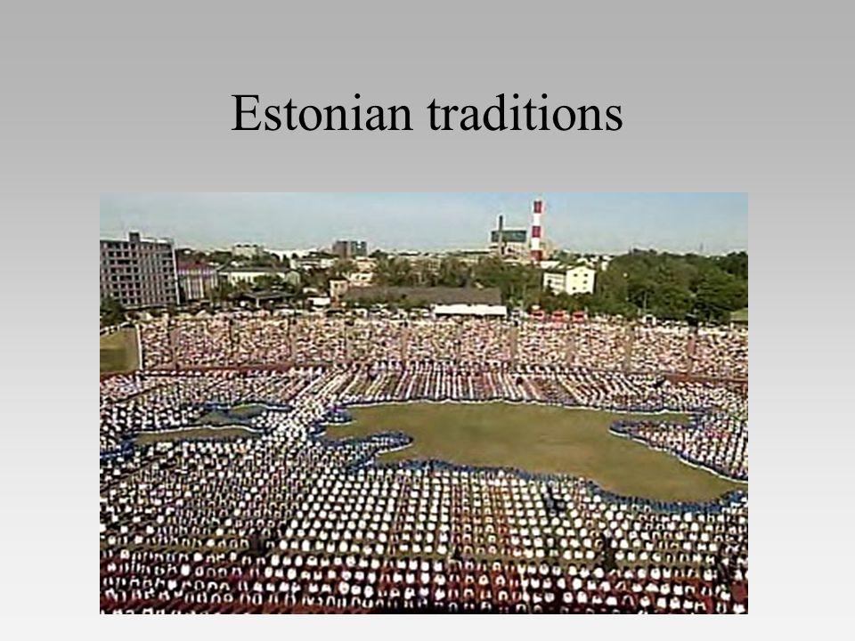 Estonian traditions
