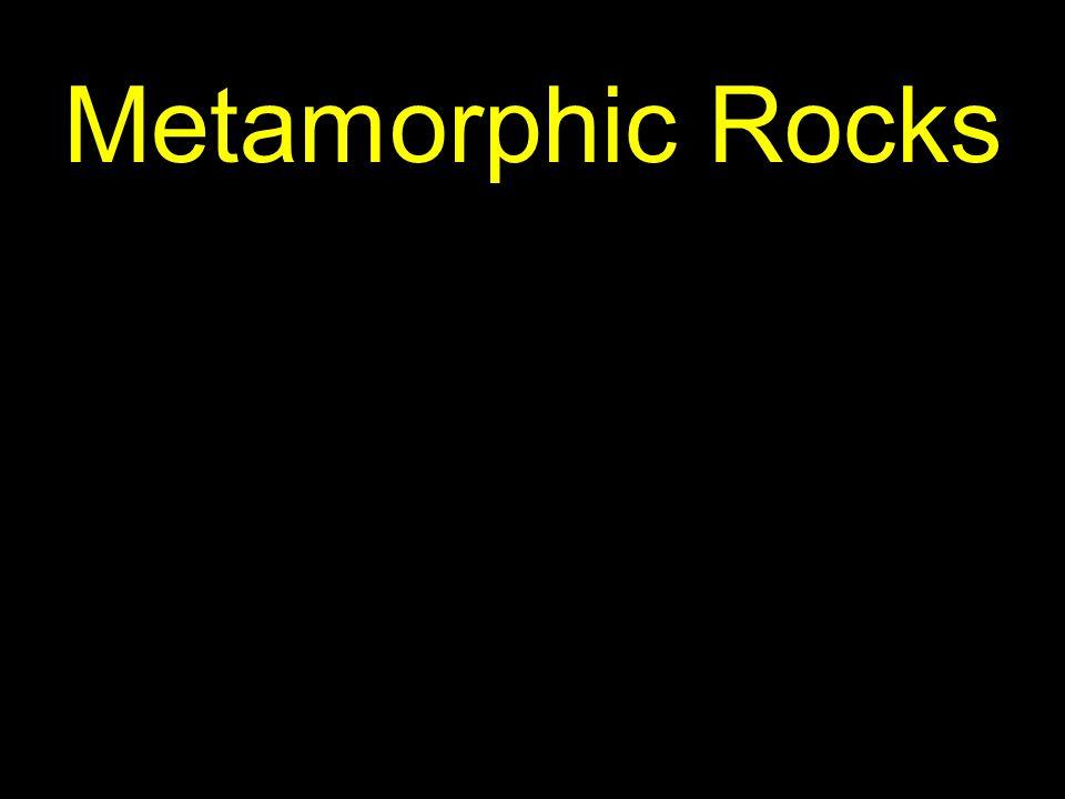 14 A metamorphic rock…