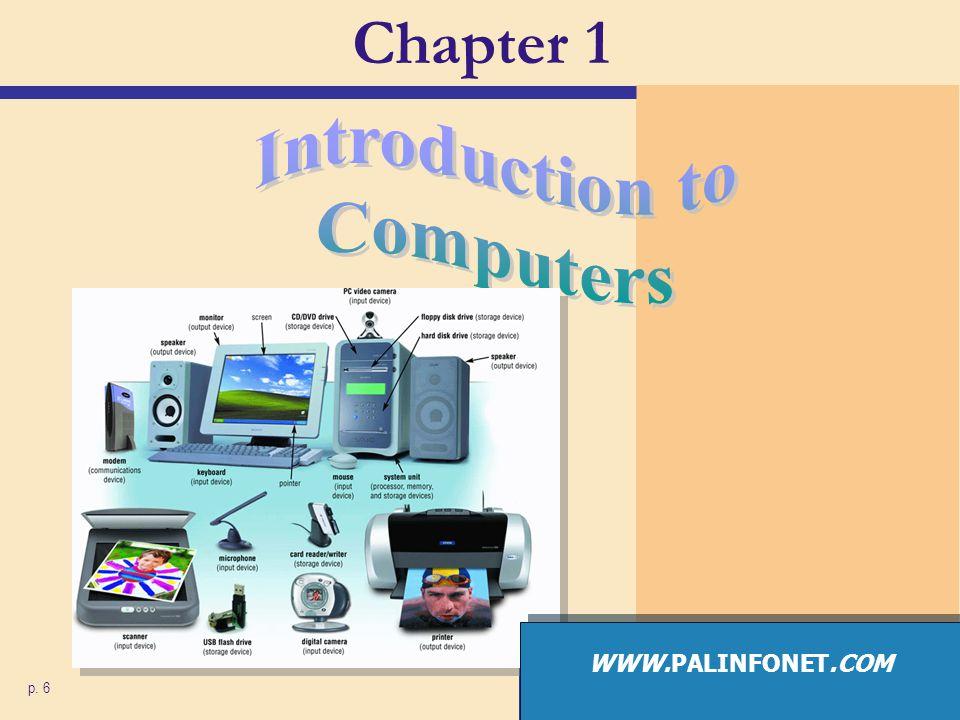Chapter 1 p. 6 WWW.PALINFONET.COM