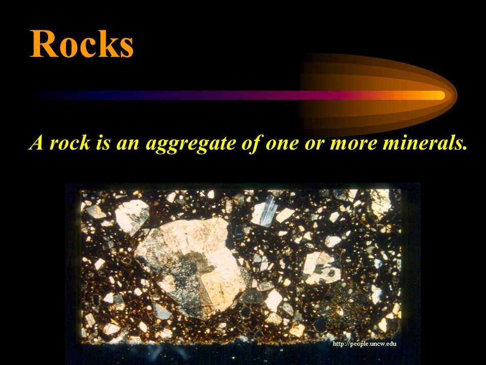  Identification is based on particle size, particle shape, mineral composition and texture Identifying Sedimentary Rocks Detrital sedimentary rocks Chemical sedimentary rocks Identified mostly by mineral composition (e.g.