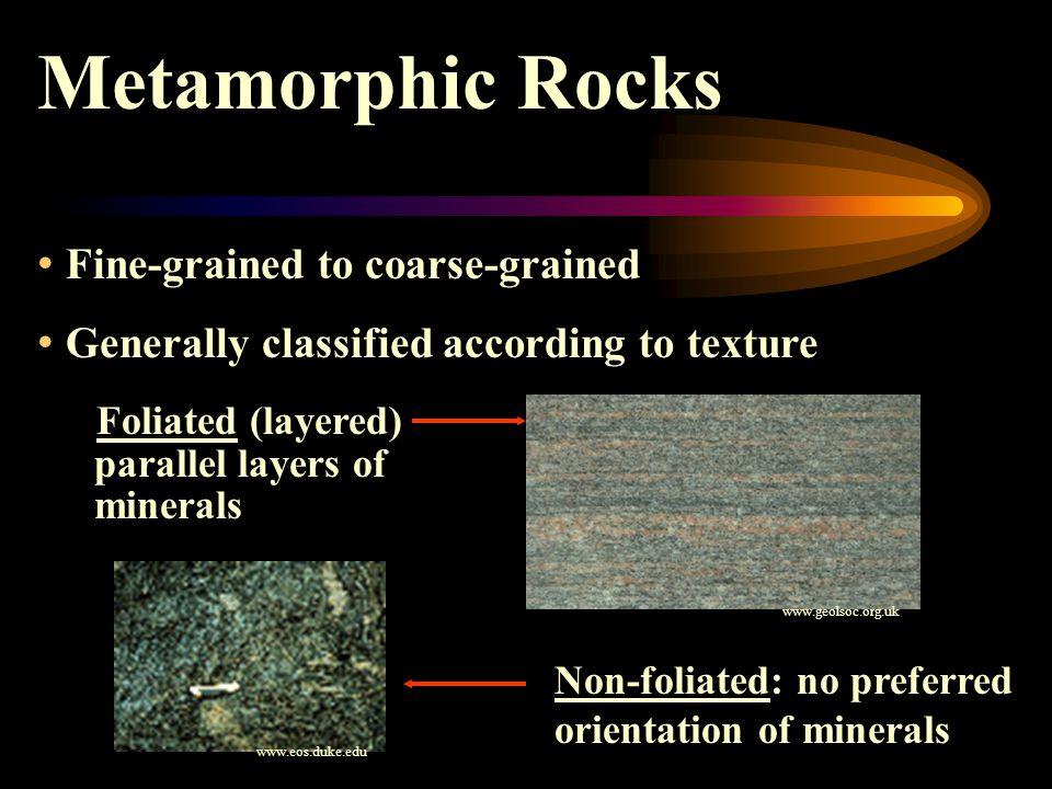 Metamorphic Rocks Faulting Folding www.dc.peachnet.eduwww.dc.peachnet.edu (Charlie Watson) www.personal.rdg.ac.uk