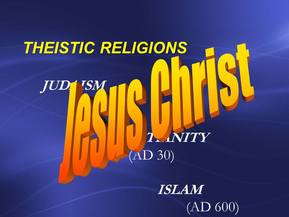 Naturalism Transcen-dentalism Theism CHRIST
