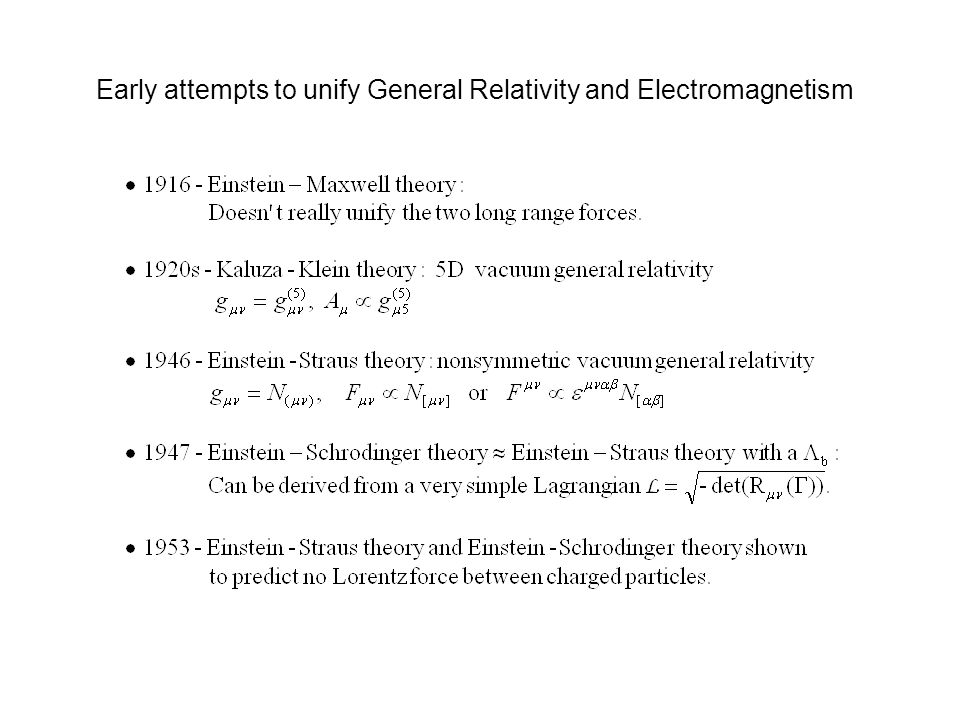 Early attempts to unify General Relativity and Electromagnetism