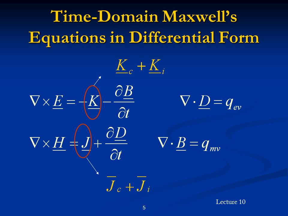 Lecture 10 26 Uniform Plane Wave Solutions in the Time Domain (Cont'd)  is the phase constant and is given by  is the phase constant and is given by rad/m