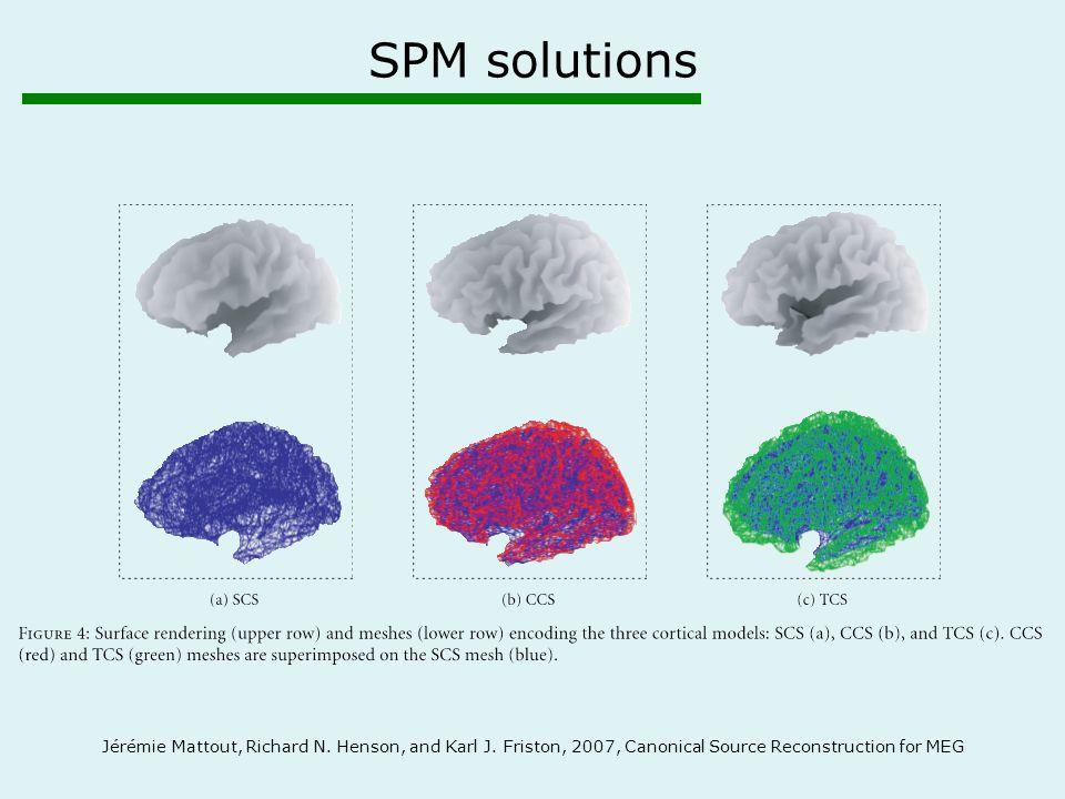 SPM solutions Jérémie Mattout, Richard N. Henson, and Karl J.