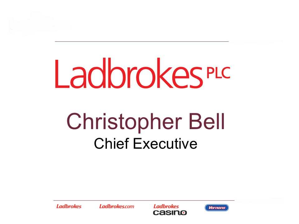 Christopher Bell Chief Executive