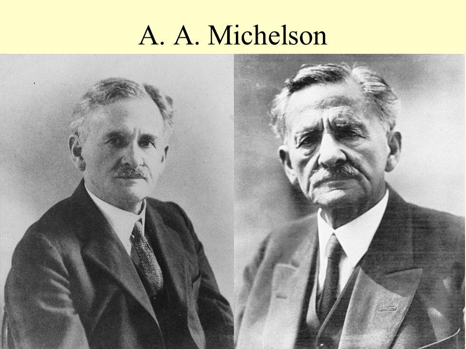 A. A. Michelson