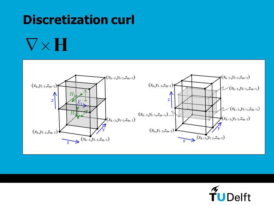 Discretization curl