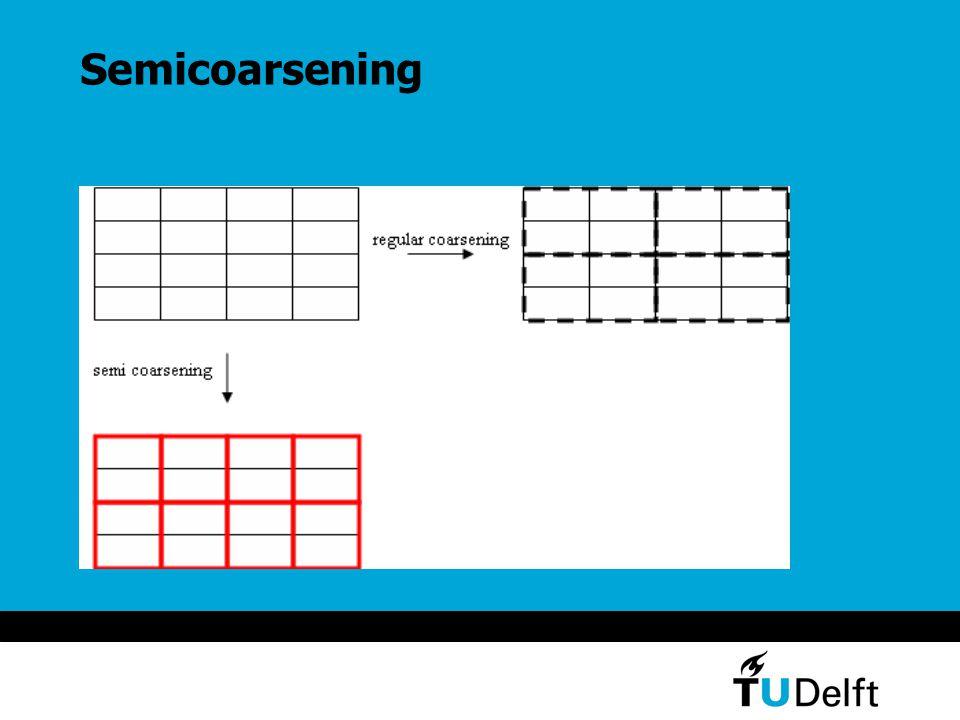 Semicoarsening