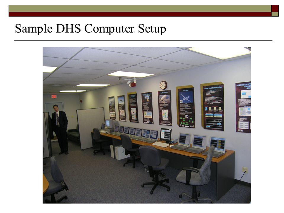 Sample DHS Computer Setup