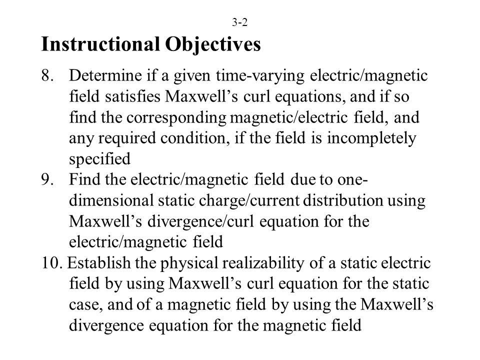 3-3 Faraday's Law and Ampère's Circuital Law (FEME, Secs. 3.1, 3.2; EEE6E, Sec. 3.1)