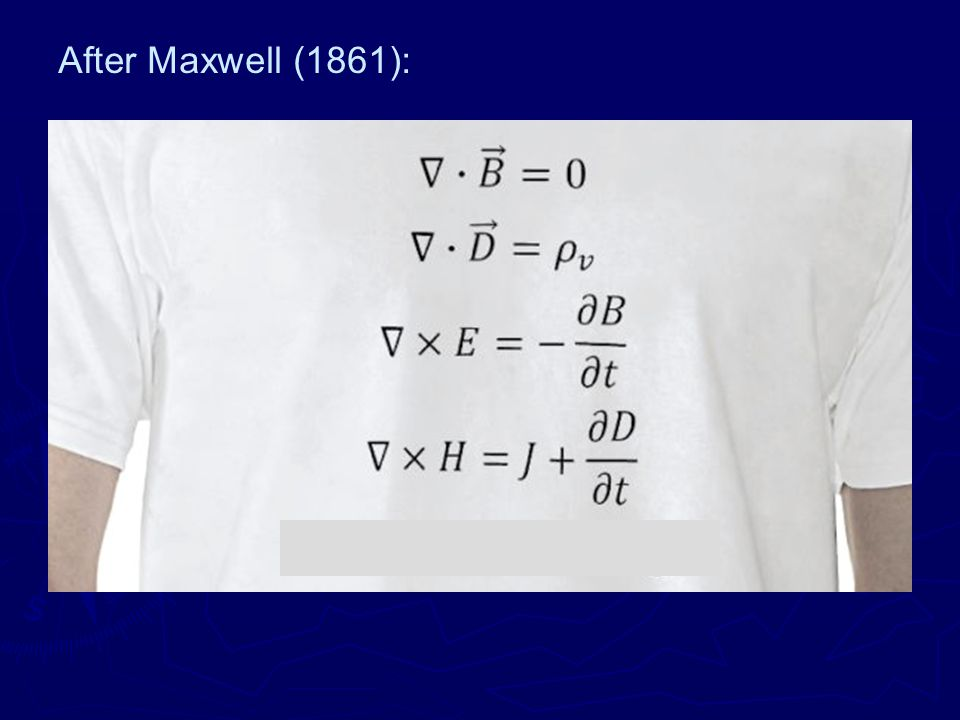 After Maxwell (1861):