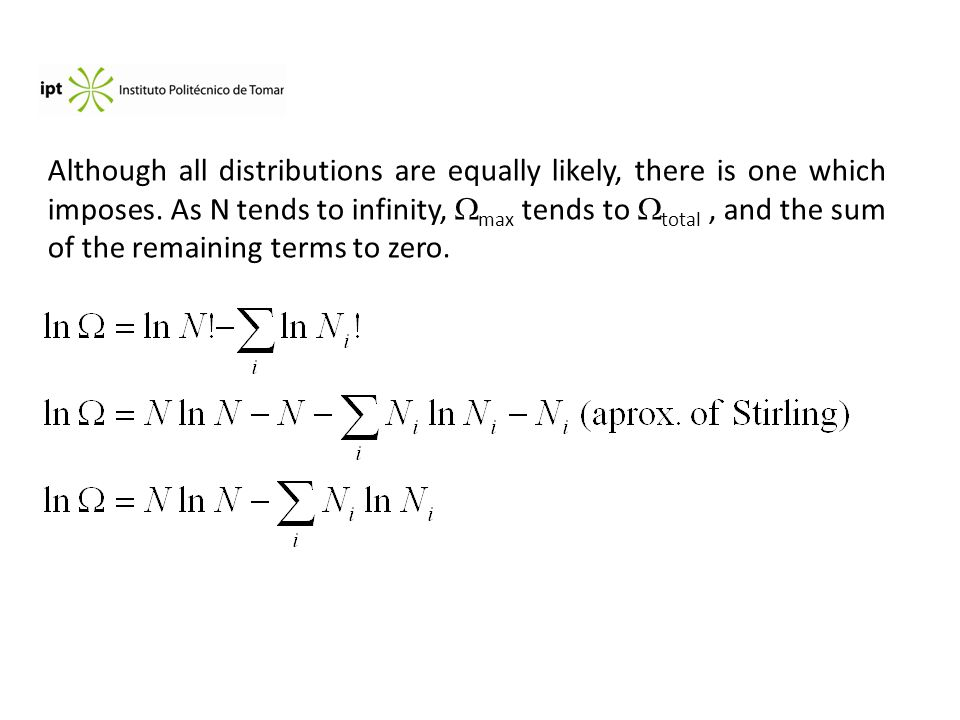 Although all distributions are equally likely, there is one which imposes.