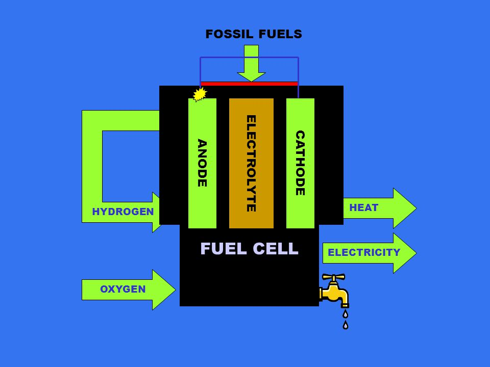 FUEL CELL HYDROGEN OXYGEN HEAT ELECTRICITY