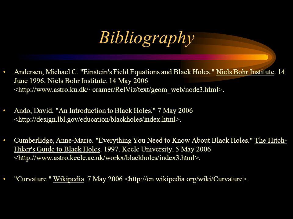 Bibliography Andersen, Michael C.