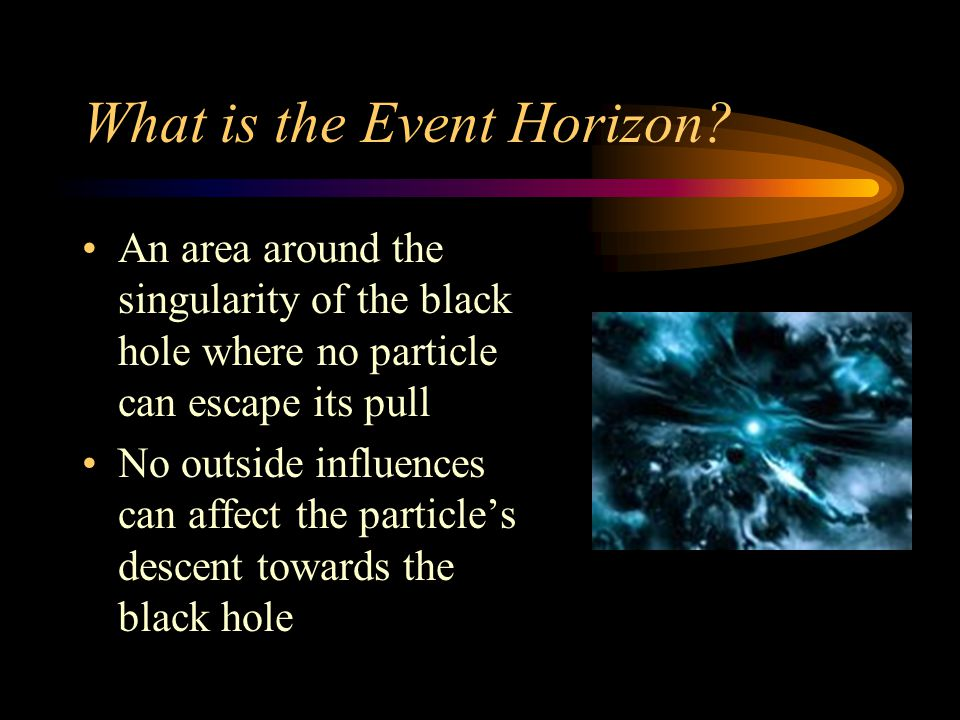 What is the Event Horizon.