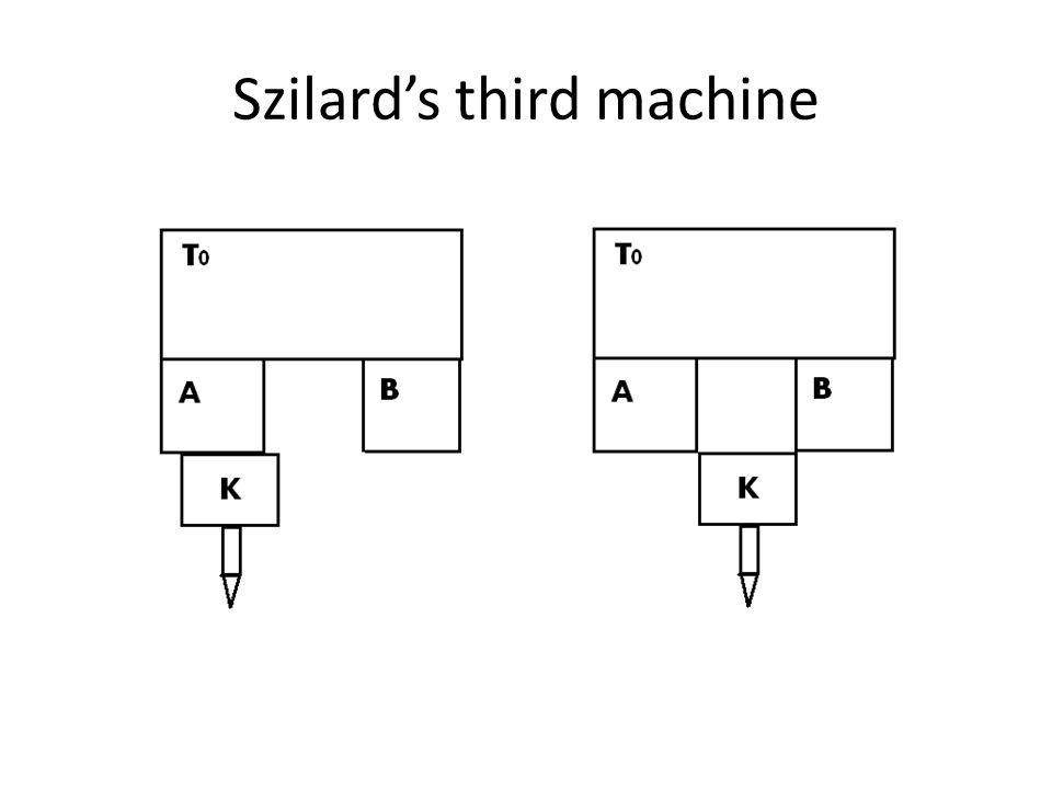 Szilard's third machine