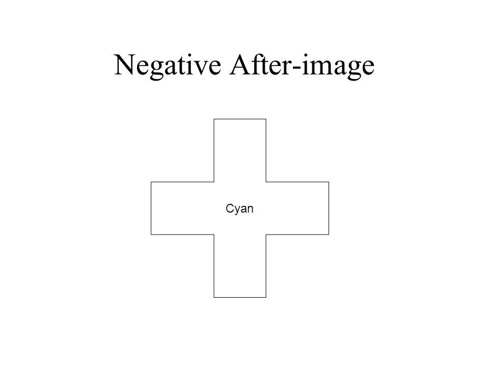 Negative After-image Cyan