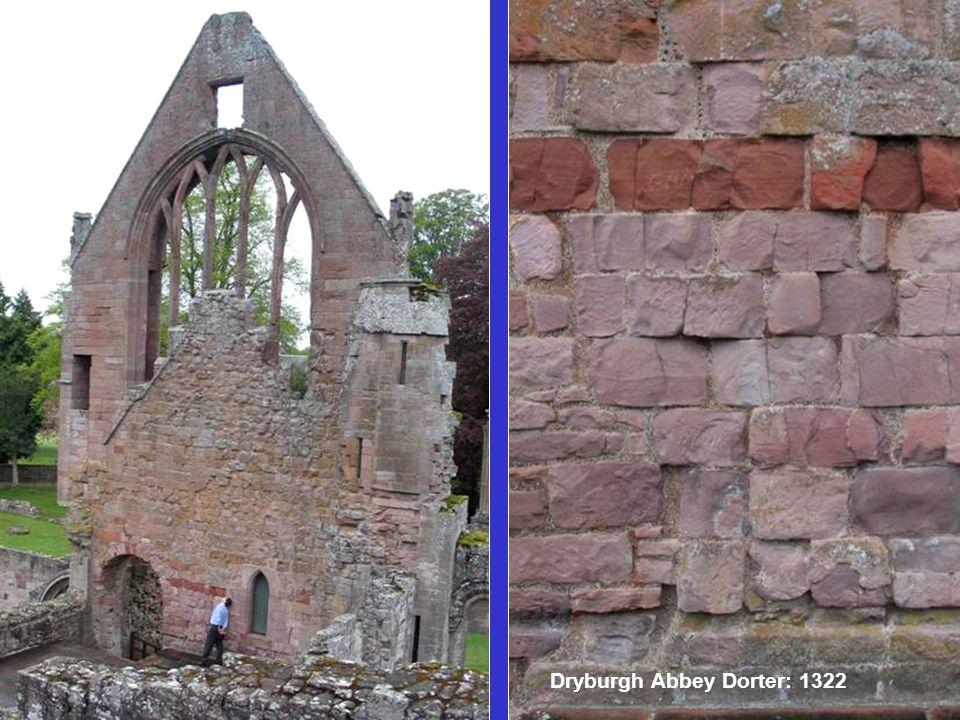 Dryburgh Abbey Dorter: 1322