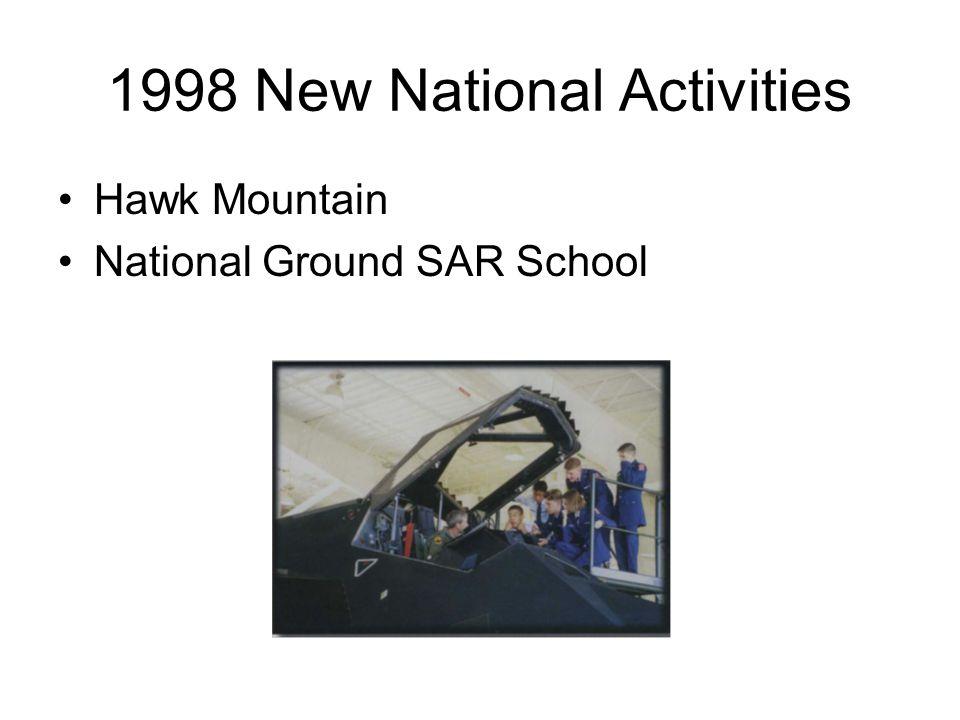 1998 New National Activities Hawk Mountain National Ground SAR School