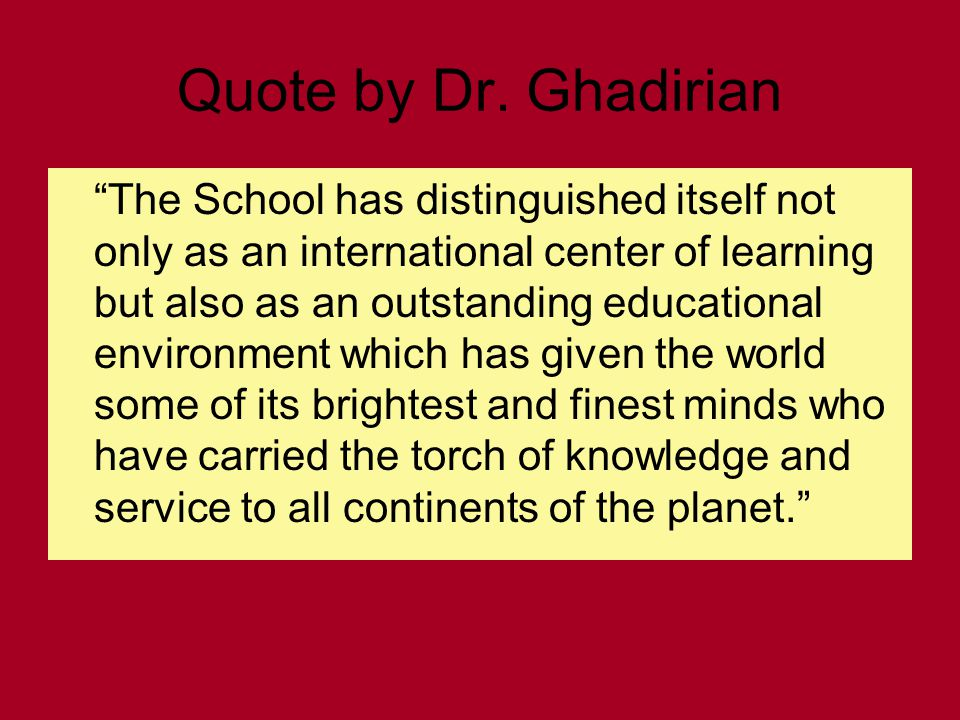 Quote by Dr.