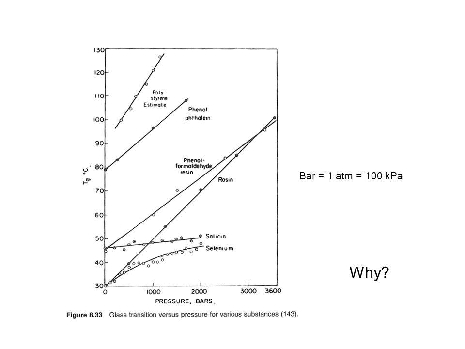 Why? Bar = 1 atm = 100 kPa