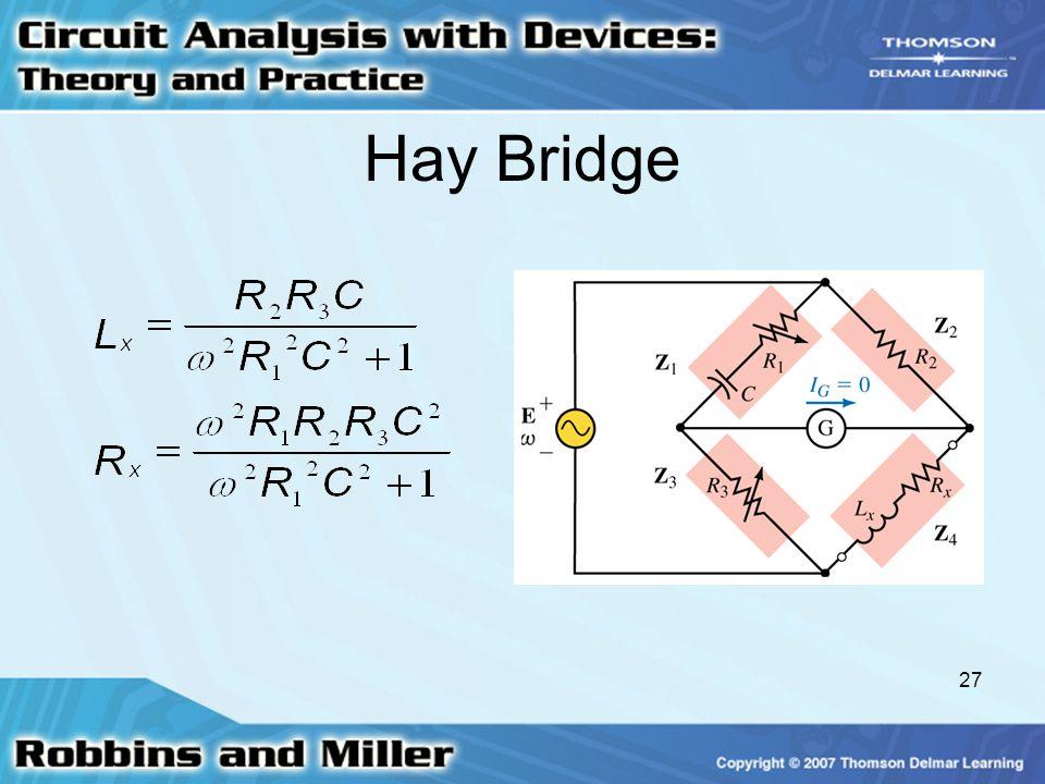 27 Hay Bridge
