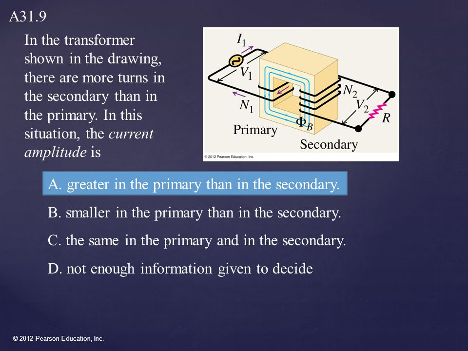 © 2012 Pearson Education, Inc. { Chapter 32 Electromagnetic Waves