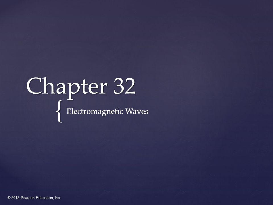 © 2012 Pearson Education, Inc.Q32.2 A.positive x-direction.