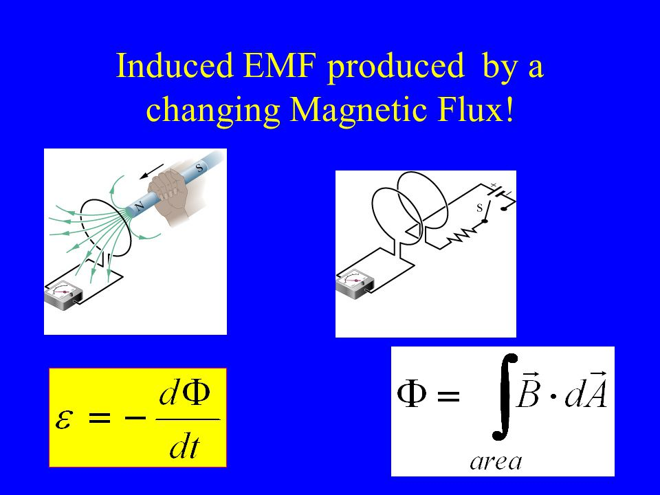 Induced electric fields We will assume here that B is increasing into the page