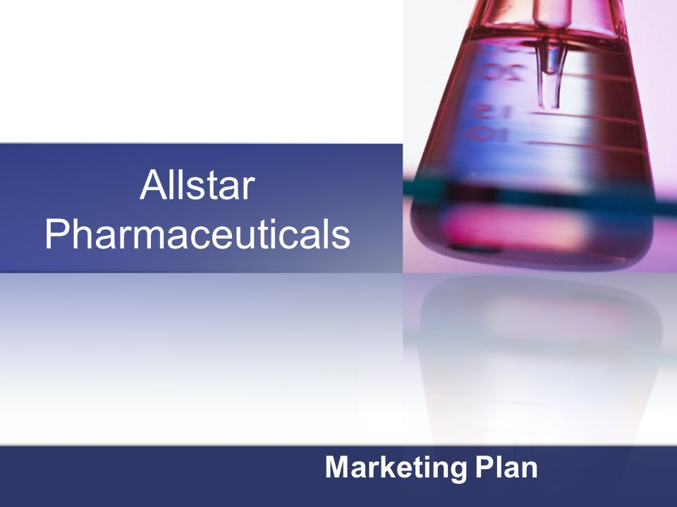 Allstar Pharmaceuticals Marketing Plan