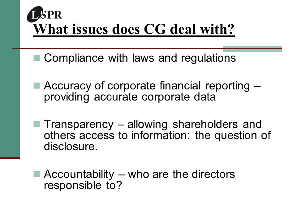 CSR, Reputation & Financial Performance Does CSR Pay.