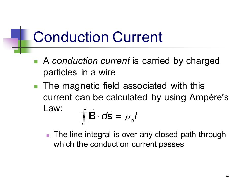 5 Conduction Current, cont.