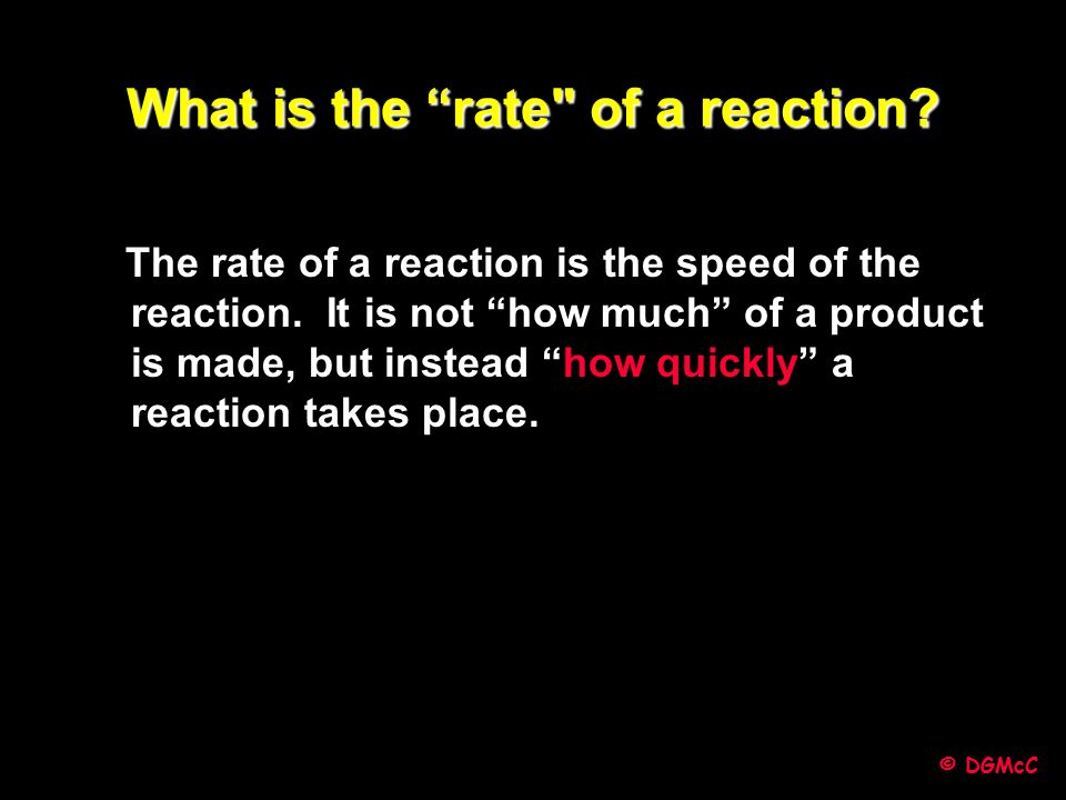 "© DGMcC What is the ""rate"