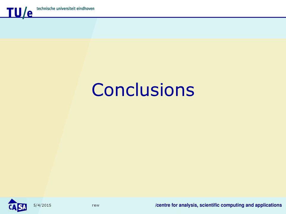 5/4/2015rew Conclusions