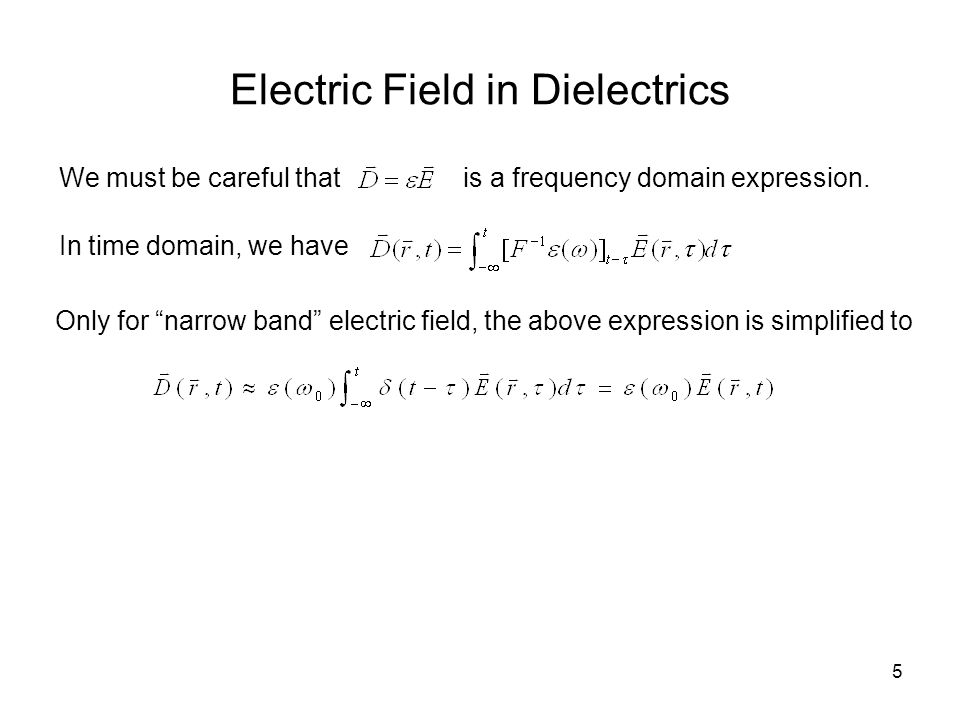 16 Field and Source Interaction Maxwell's equations describe how electro-magnetic fields are excited by charge and current sources, and how they interact Electro-magnetic fields, in turn, act on sources, such action is aggregatively described by Lorentzian force Force density applied on charge density Force on charge
