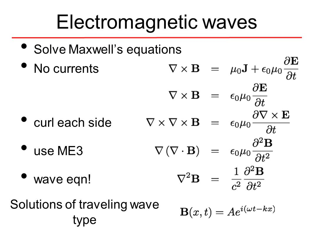 Electromagnetic spectrum Familiar with x, gamma, UV, optical, IR.... microwaves