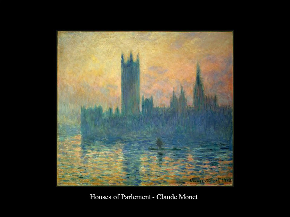 Houses of Parlement - Claude Monet