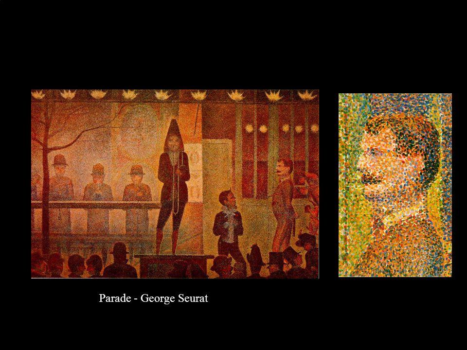 Parade - George Seurat