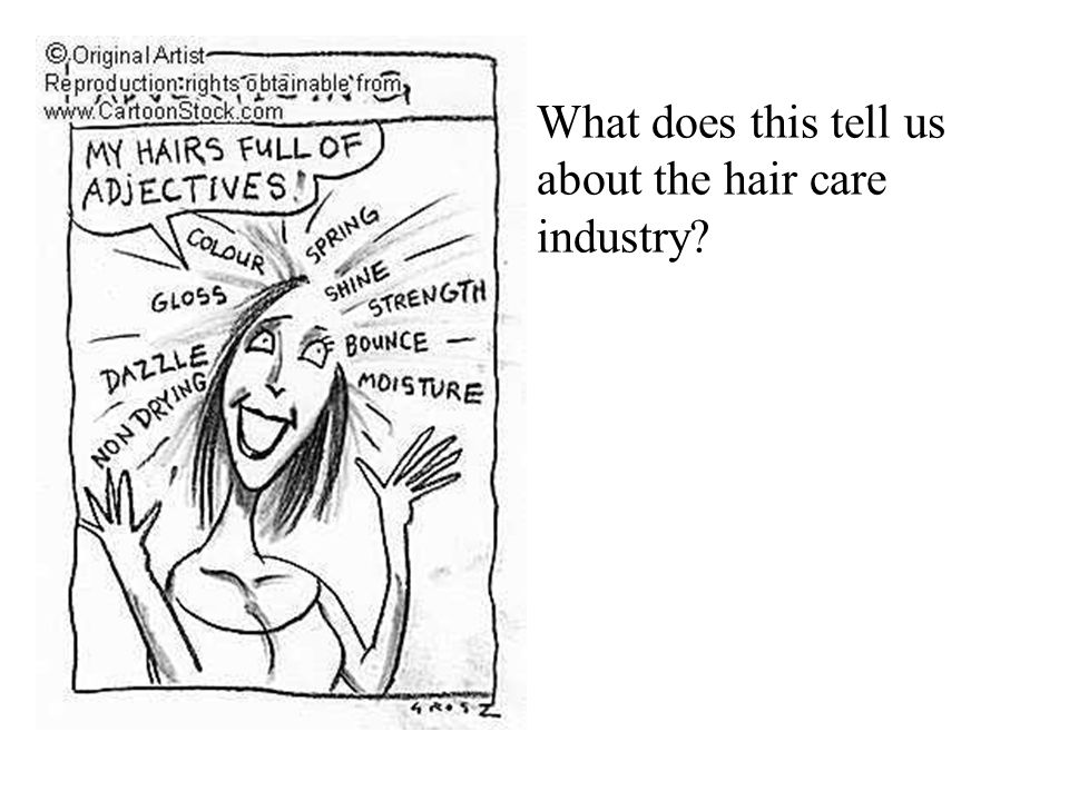 What does this tell us about the hair care industry