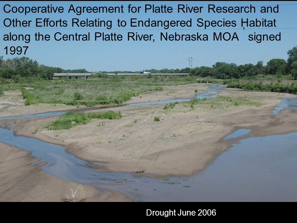 Platte River near Sarben by Anne Burkholder