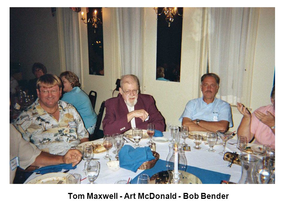 Art McDonald - Bob Bender & Wife