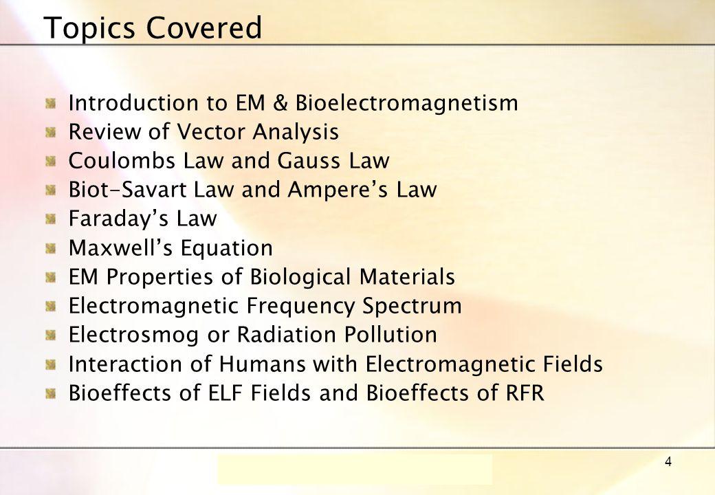 Dr.-Ing. René Marklein - EFT I - SS 06 - Lecture 1 / Vorlesung 1 15
