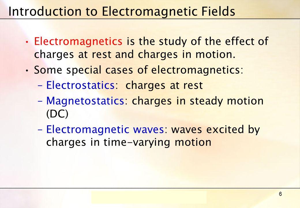 Dr.-Ing. René Marklein - EFT I - SS 06 - Lecture 1 / Vorlesung 1 17