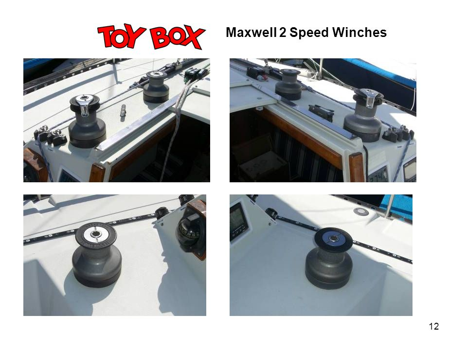 12 Maxwell 2 Speed Winches