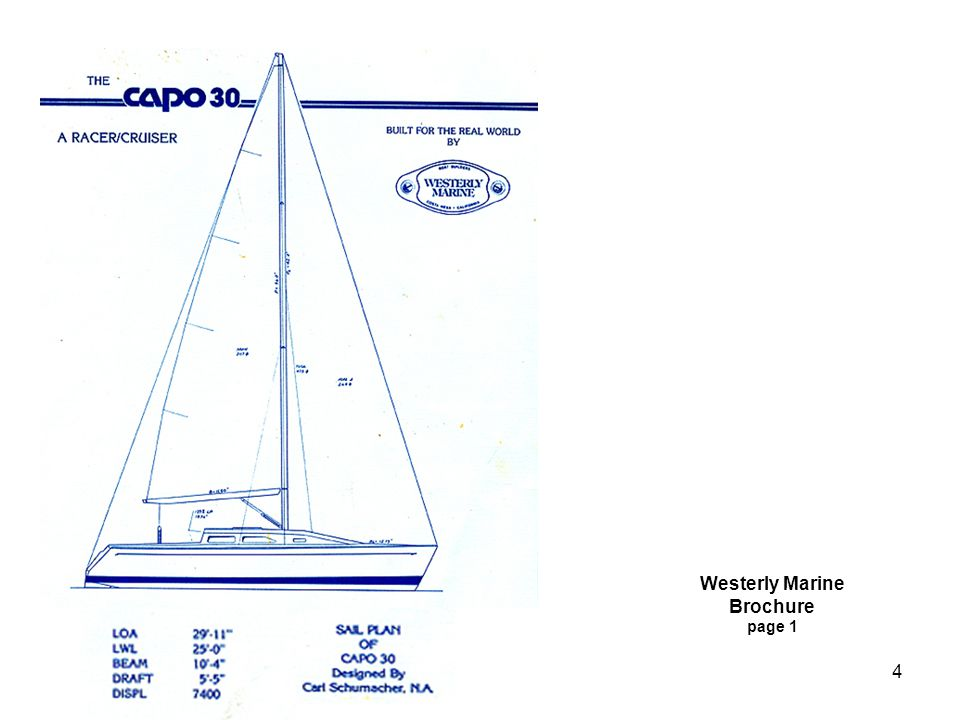 4 Westerly Marine Brochure page 1