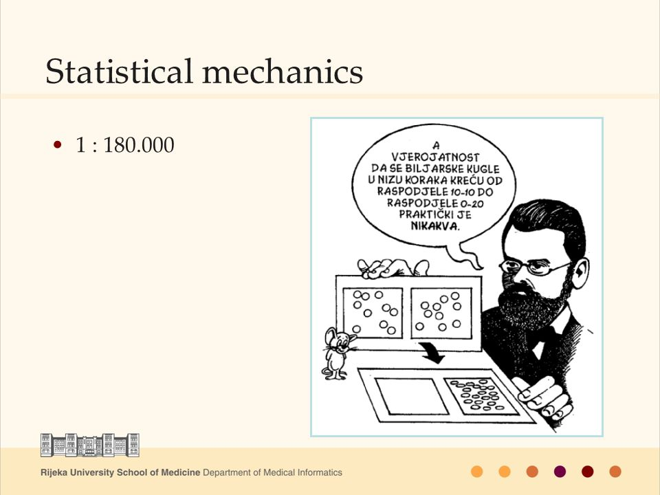 1 : 180.000 Statistical mechanics
