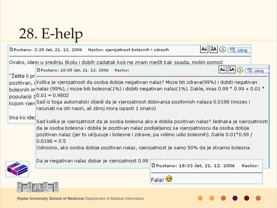 28. E-help