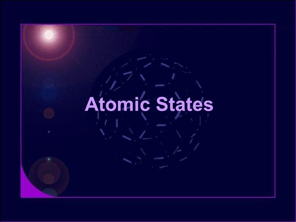 Atomic States
