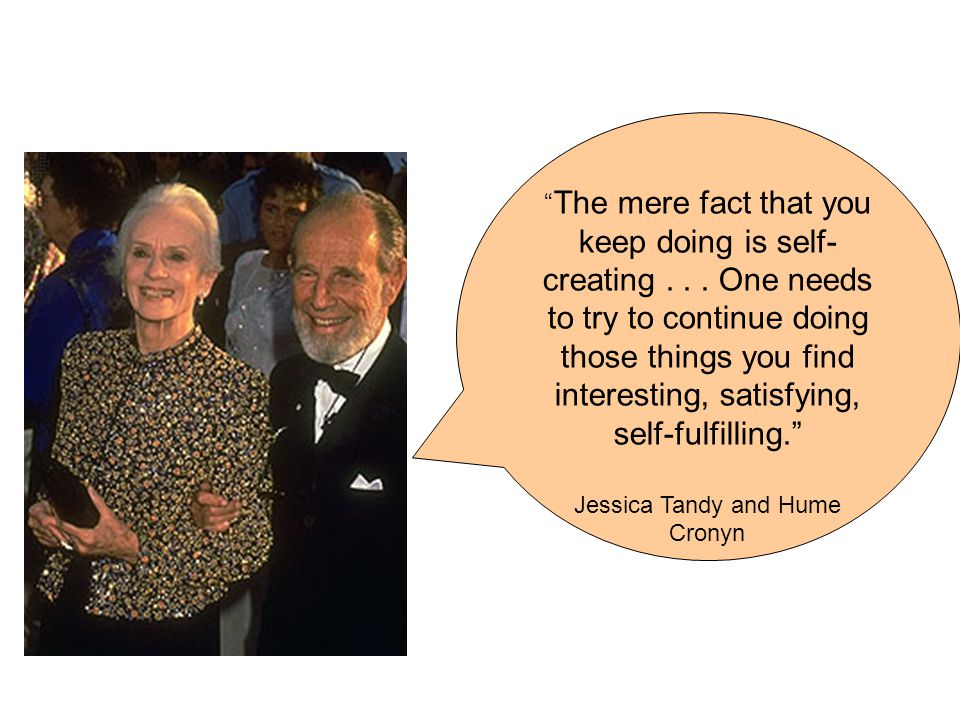 The mere fact that you keep doing is self- creating...